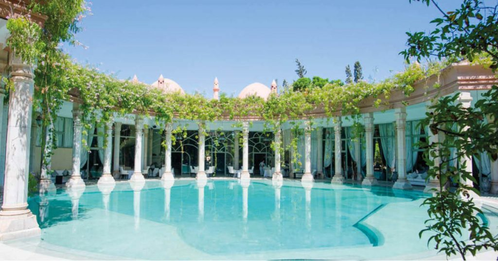 The 8 most beautiful pools in Marrakech